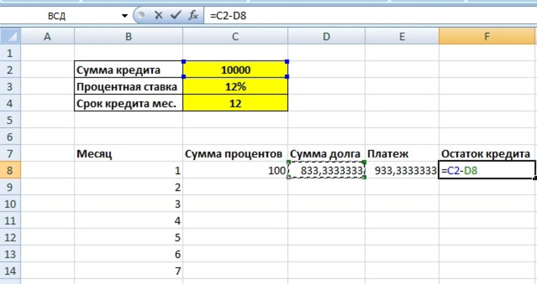 Рассчитать процент переплаты по кредиту онлайн кредит европа банк онлайн интернет