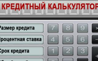Возможности и преимущества кредитного калькулятора