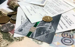 Ежемесячный платеж по кредитной карте Сбербанка