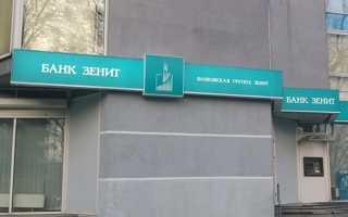 Особенности оформления потребительского кредита в банке Зенит