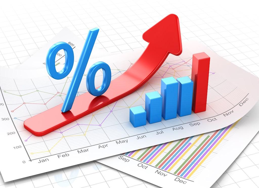 Cредневзвешенная процентная ставка по кредитам