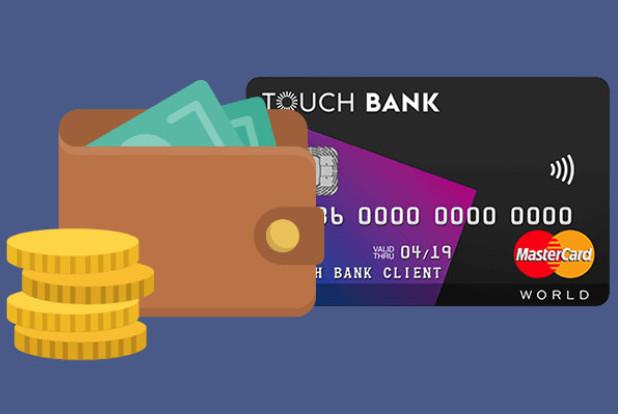 Тач банк онлайн заявка на кредит наличными без справок и поручителей карта
