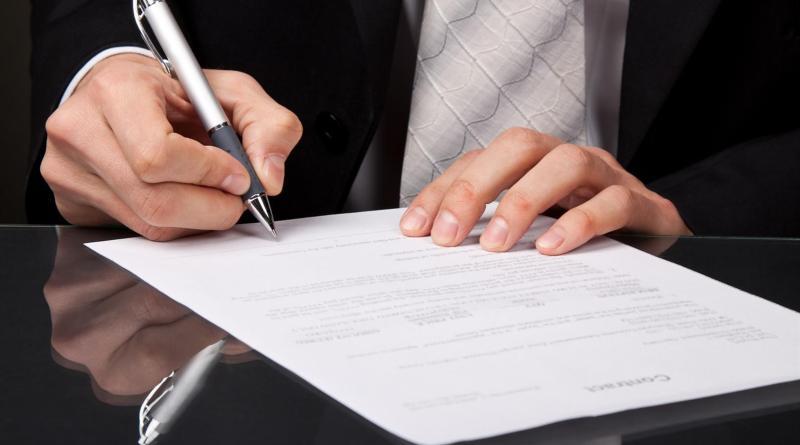 Заключение заведомо недействительного договора поручительства
